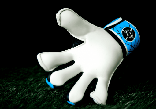 SAVIOUR GK SPARTAN BLUE HYBRID GOALKEEPER GLOVES