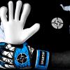 SAVIOUR GK SPARTAN BLUE HYBRID GOALKEEPER GLOVES