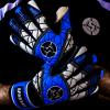 SAVIOUR GK SPARTAN BLUE NEGATIVE GOALKEEPER GLOVES