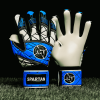 SAVIOUR GK SPARTAN BLUE NEGATIVE GOALKEEPER GLOVES