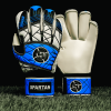 SAVIOUR GK SPARTAN BLUE ROLL FINGER GOALKEEPER GLOVES