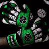 SAVIOUR GK SPARTAN GREEN HYBRID GOALKEEPER GLOVES