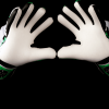 SAVIOUR GK SPARTAN GREEN NEGATIVE GOALKEEPER GLOVES