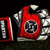 SAVIOUR GK SPARTAN ROLL FINGER RED GOALKEEPER GLOVES