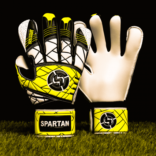 SAVIOUR GK SPARTAN YELLOW HYBRID GOALKEEPER GLOVES