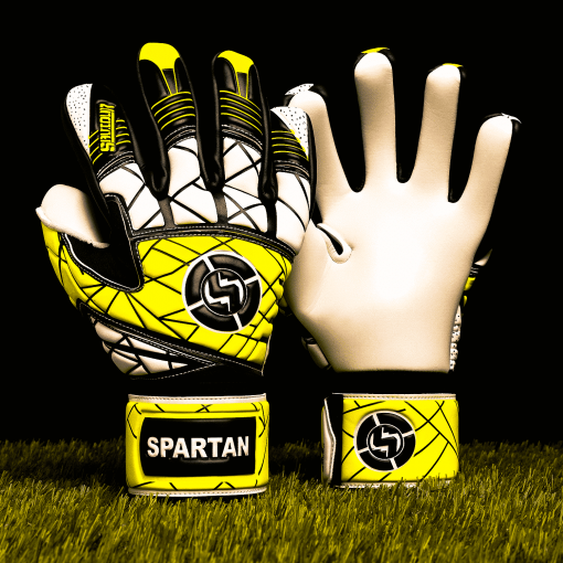 SAVIOUR GK SPARTAN YELLOW NEGATIVE GOALKEEPER GLOVES