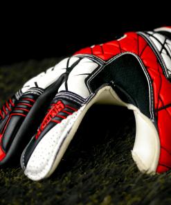 Spartan Hybrid Red Goalkeeper Gloves