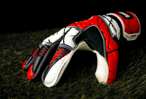 Spartan Hybrid Red Goalkeeper Gloves