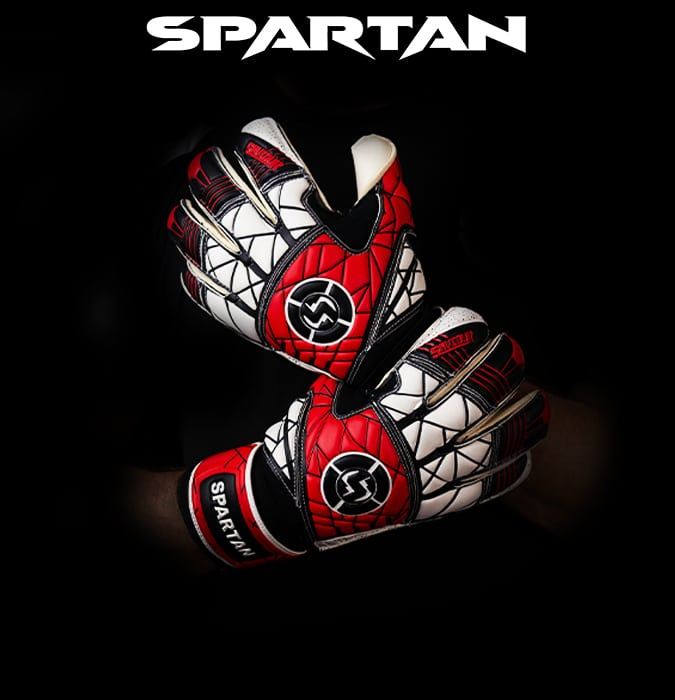 spartan Goalkeeping gloves, saviour football gloves